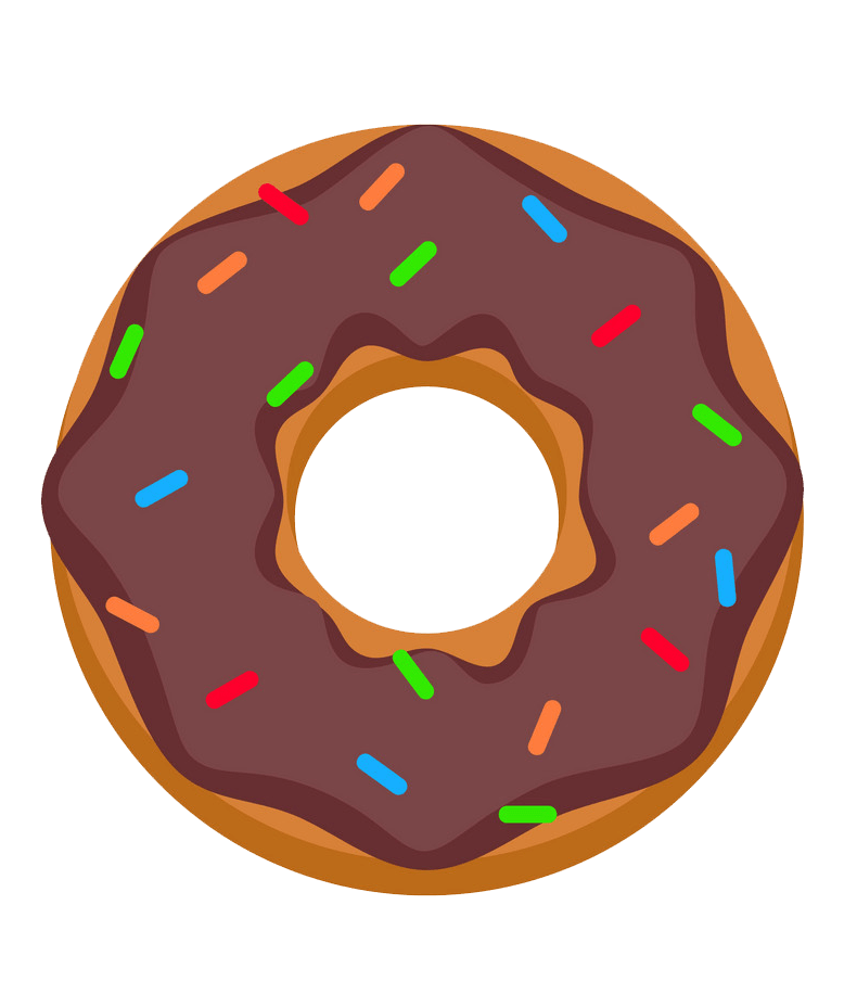 Icon donut clipart transparent