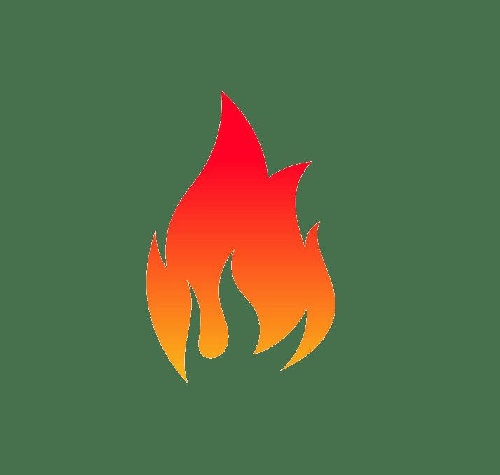 Icon fire clipart transparent