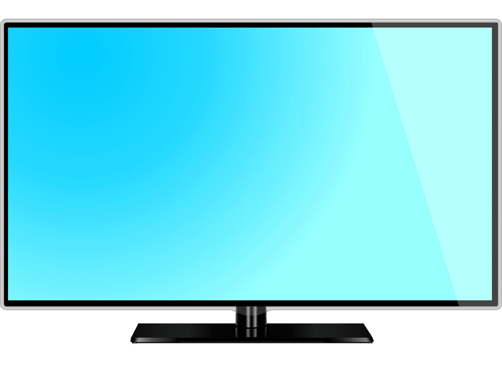 Lcd screen monitor TV png