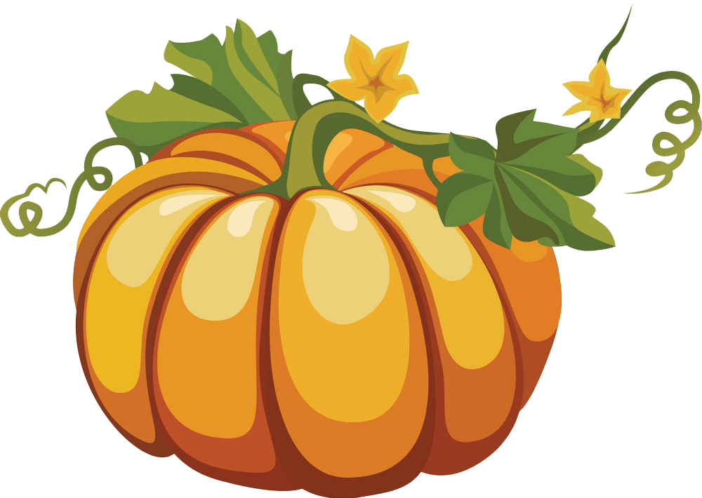 Pumpkin clipart transparent 2