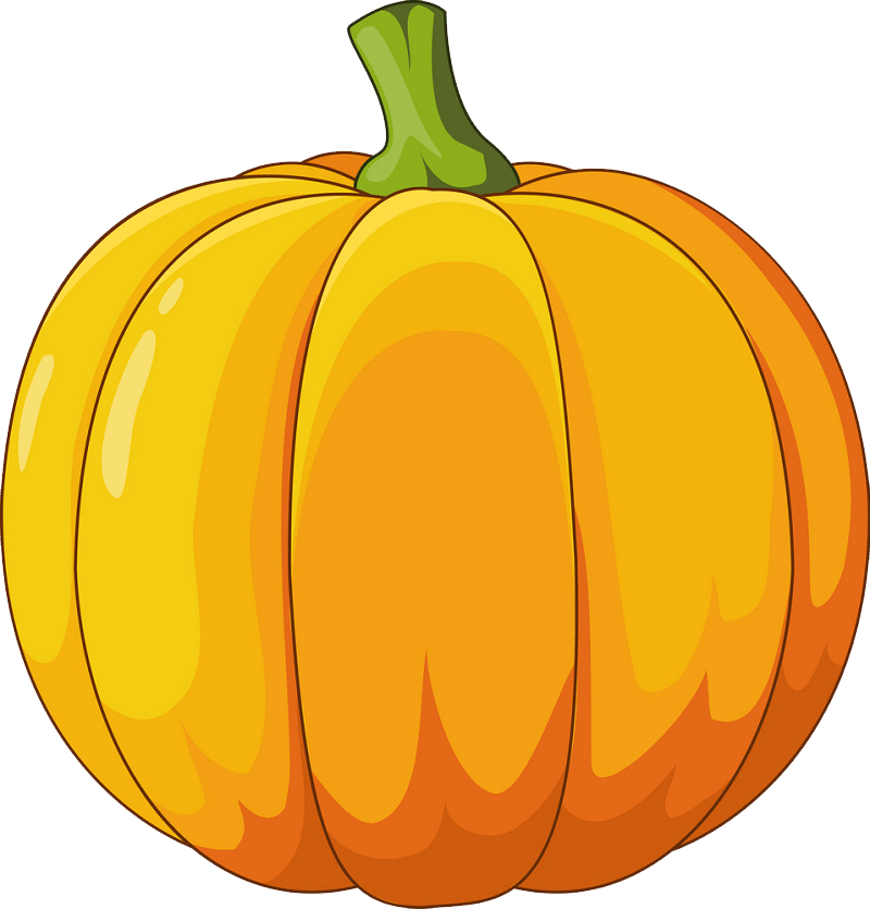 Pumpkin clipart transparent 3