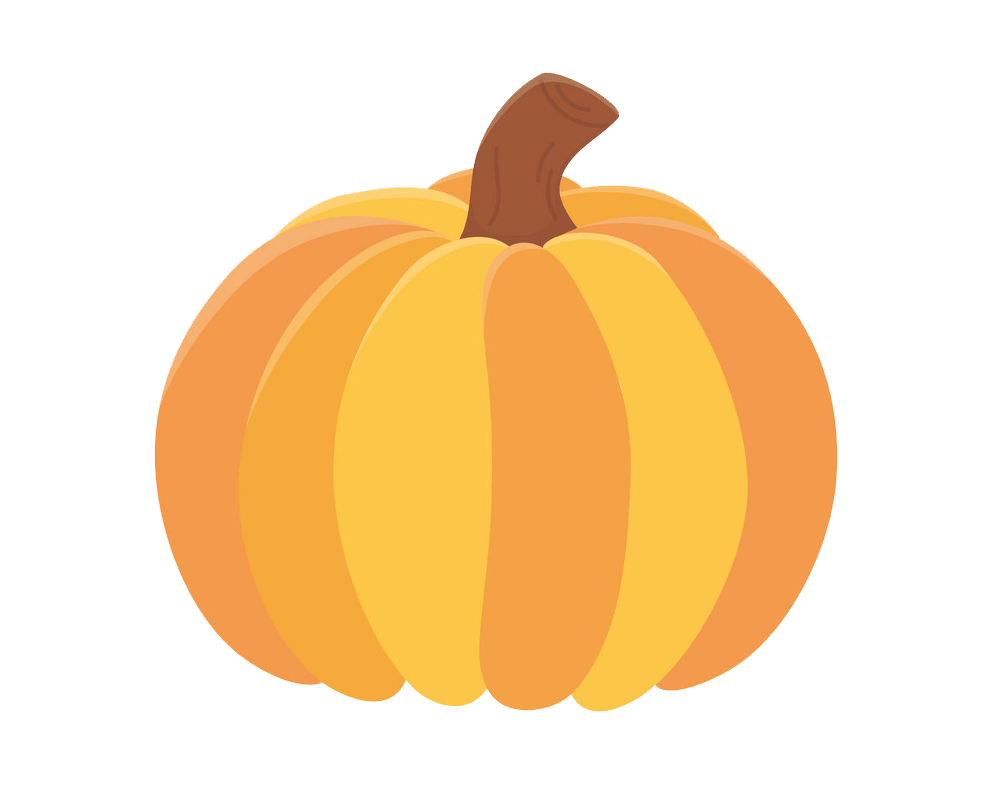 Pumpkin clipart transparent 5