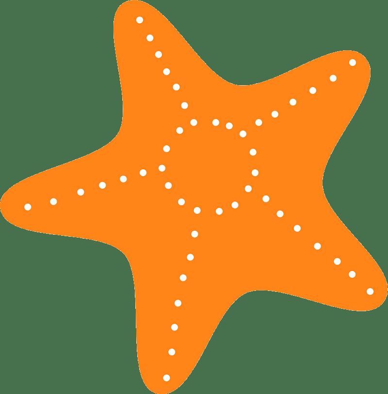 Starfish clipart transparent 3