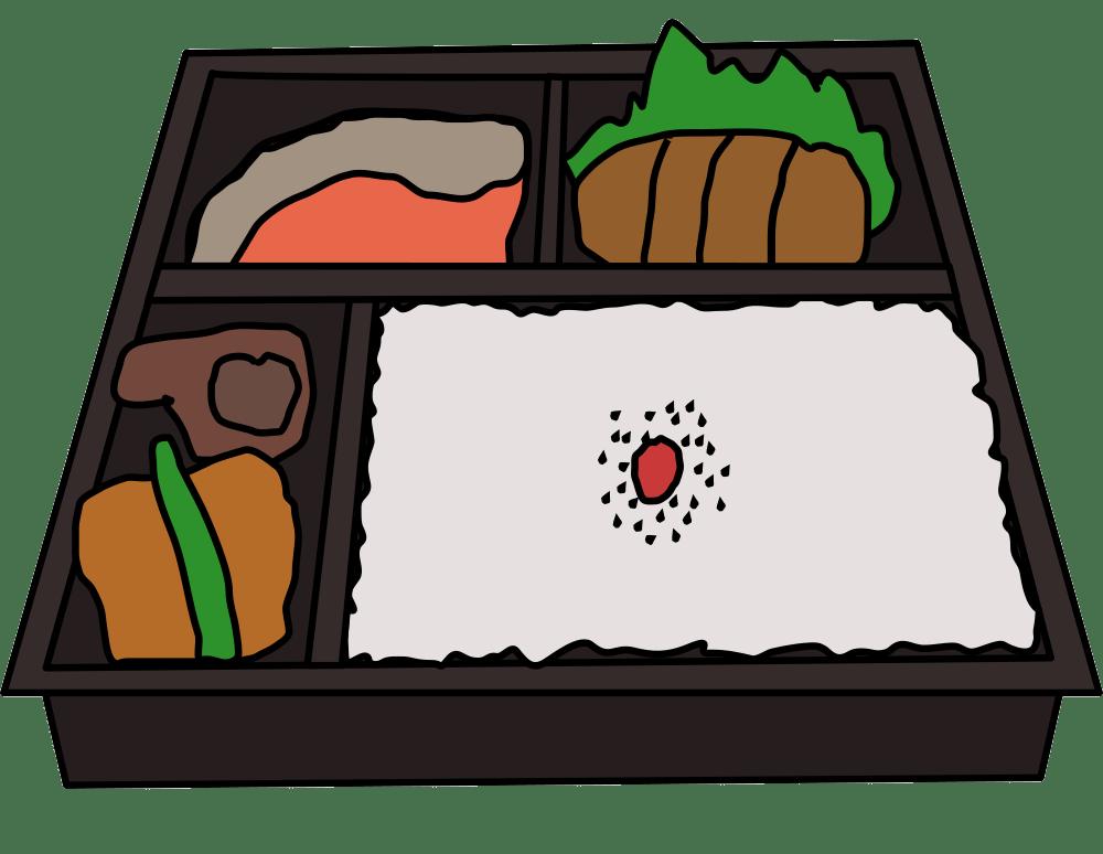 bento lunchbox transparent