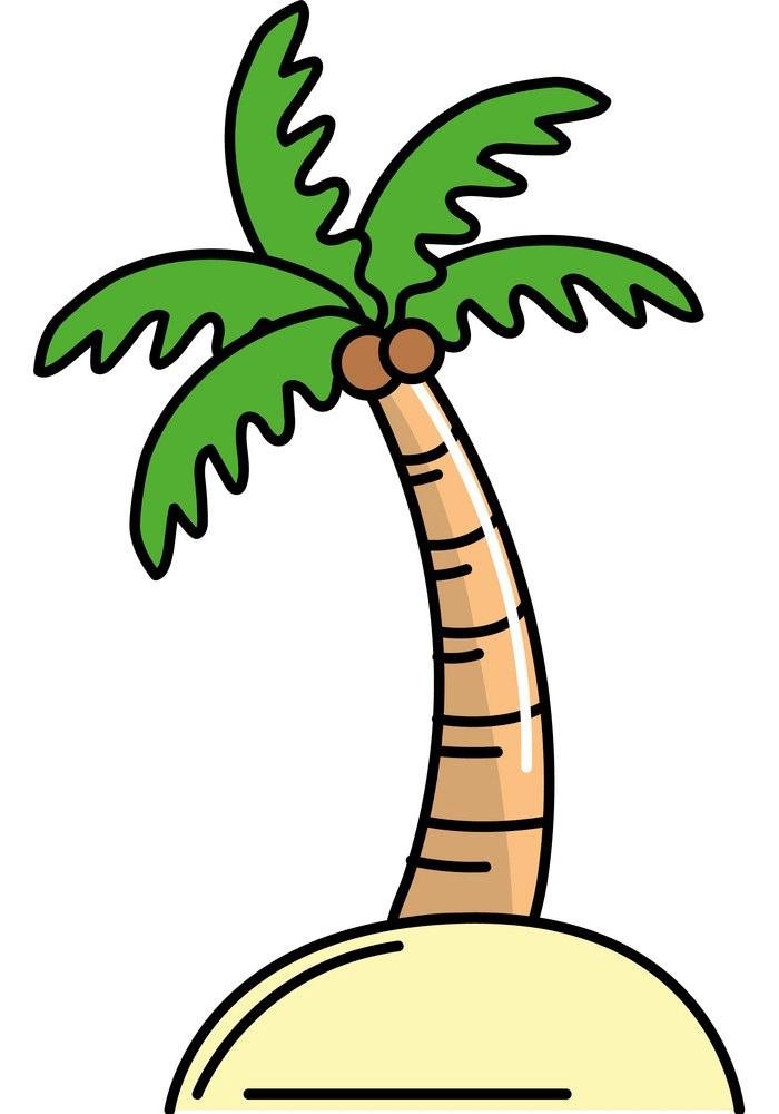plam tree clipart
