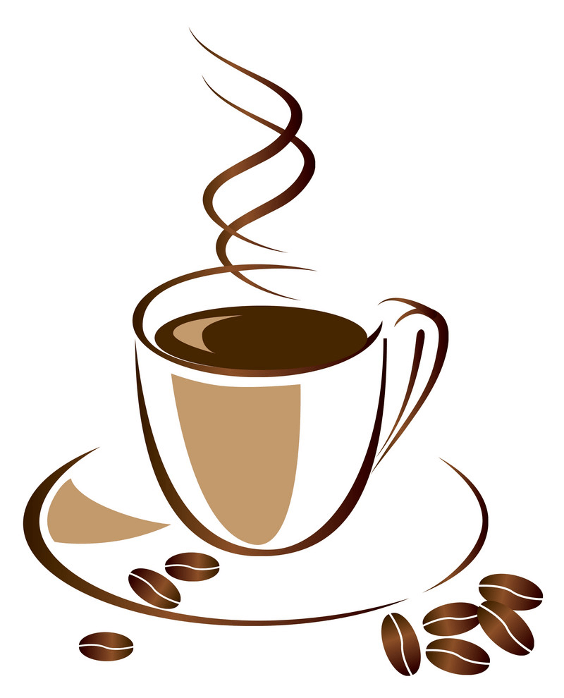 A Hot Coffee Cup clipart