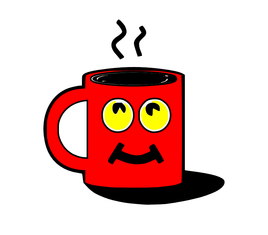 Animated Coffee Cup clipart transparent