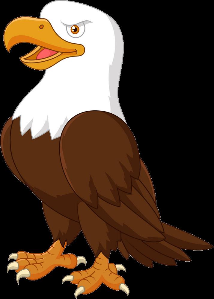 Animated Eagle clipart transparent