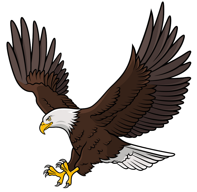 Awesome Eagle clipart transparent