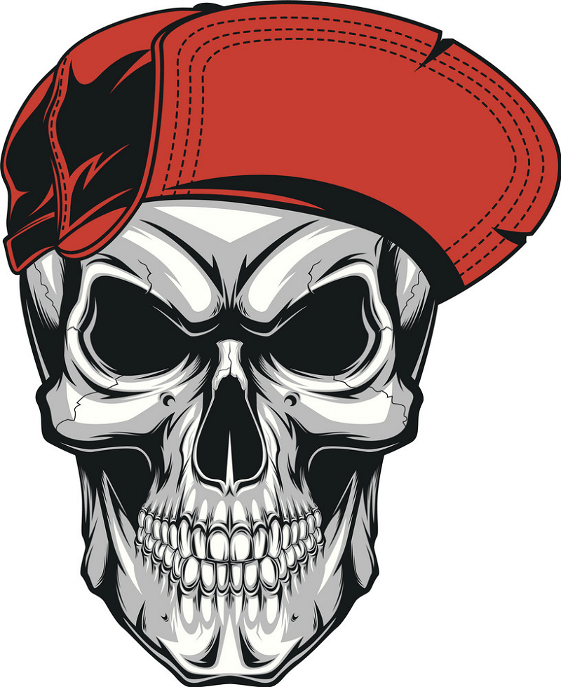 Awesome Skull png