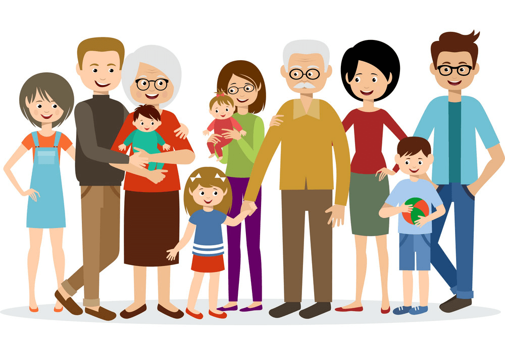 Big Family clipart 1