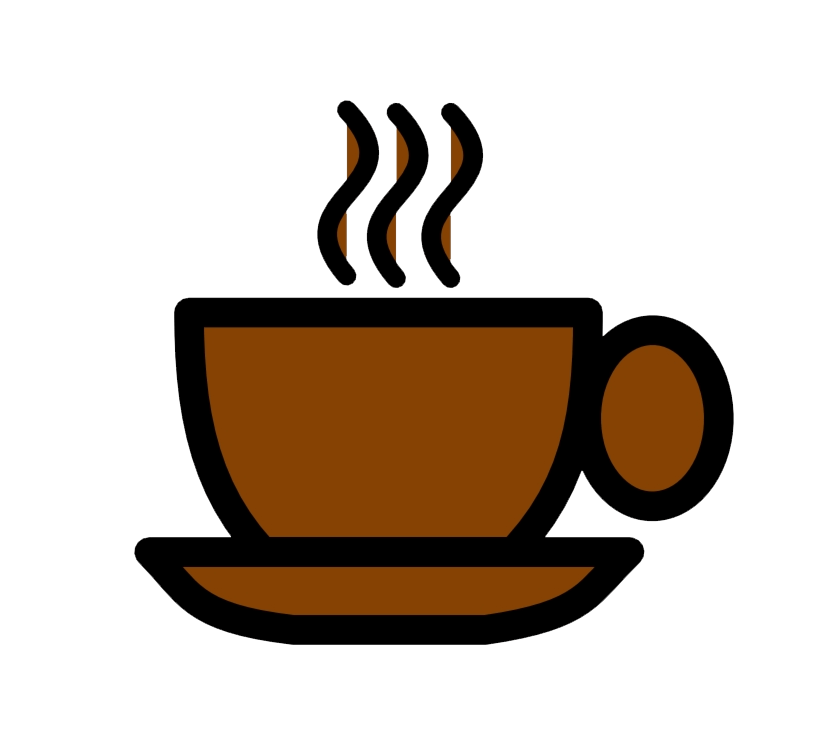 Brown Coffee Cup clipart transparent