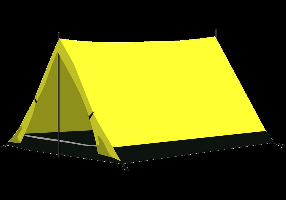 Camping Tent clipart transparent
