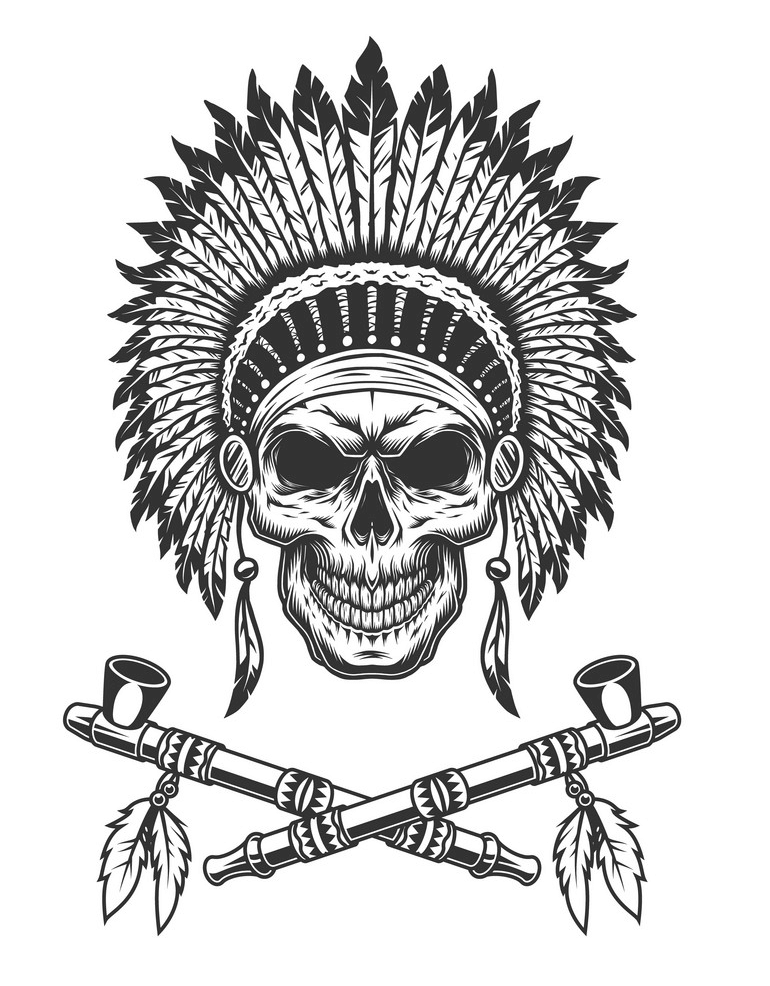 Chief Skull png
