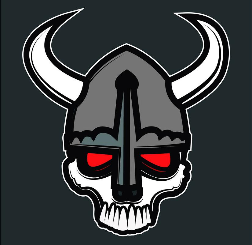 Comic Skull clipart