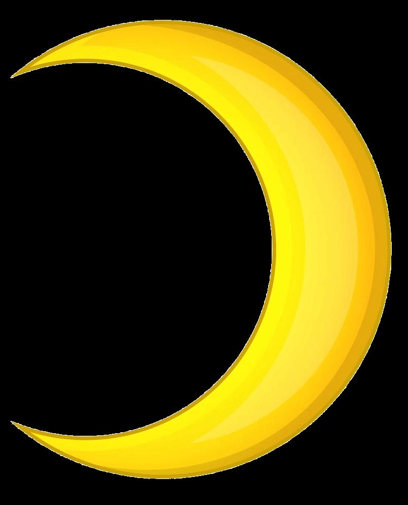 Crescent Moon clipart transparent