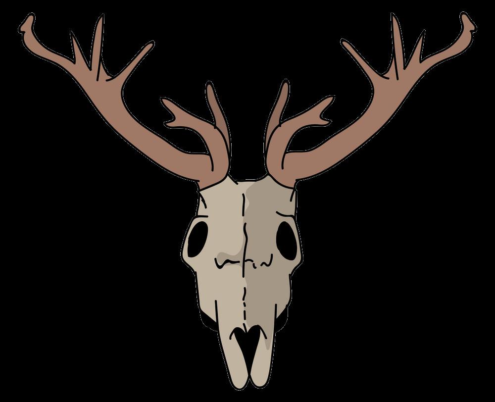 Deer Skull clipart transparent