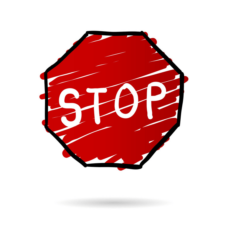 Doodle Stop Sign png