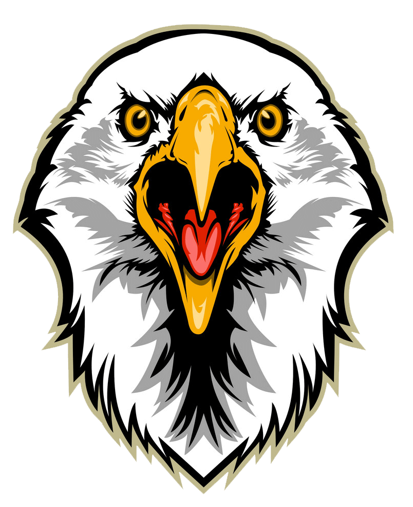 Eagle Head clipart transparent