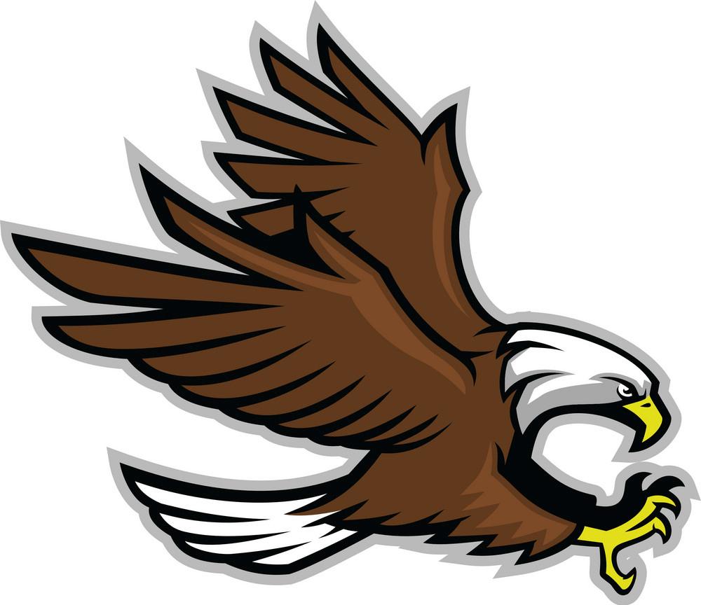 Eagle Mascot clipart