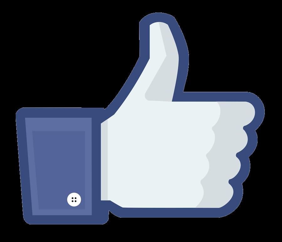 Facebook Like Thumb clipart transparent