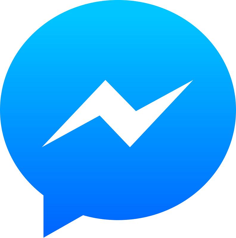 Facebook Messenger clipart