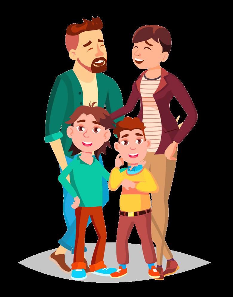 Family clipart transparent 3
