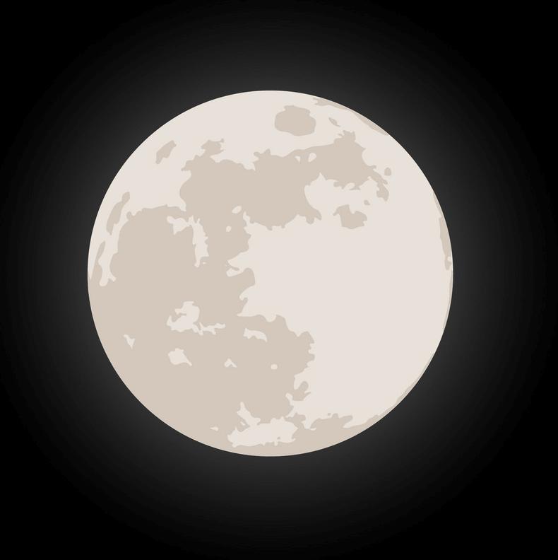 Full Moon clipart 2