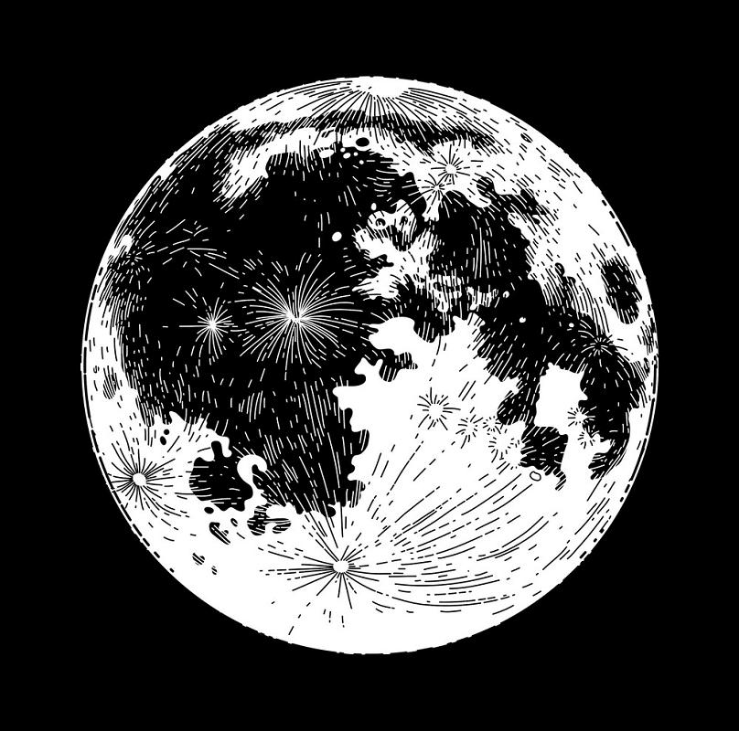 Full Moon clipart 3