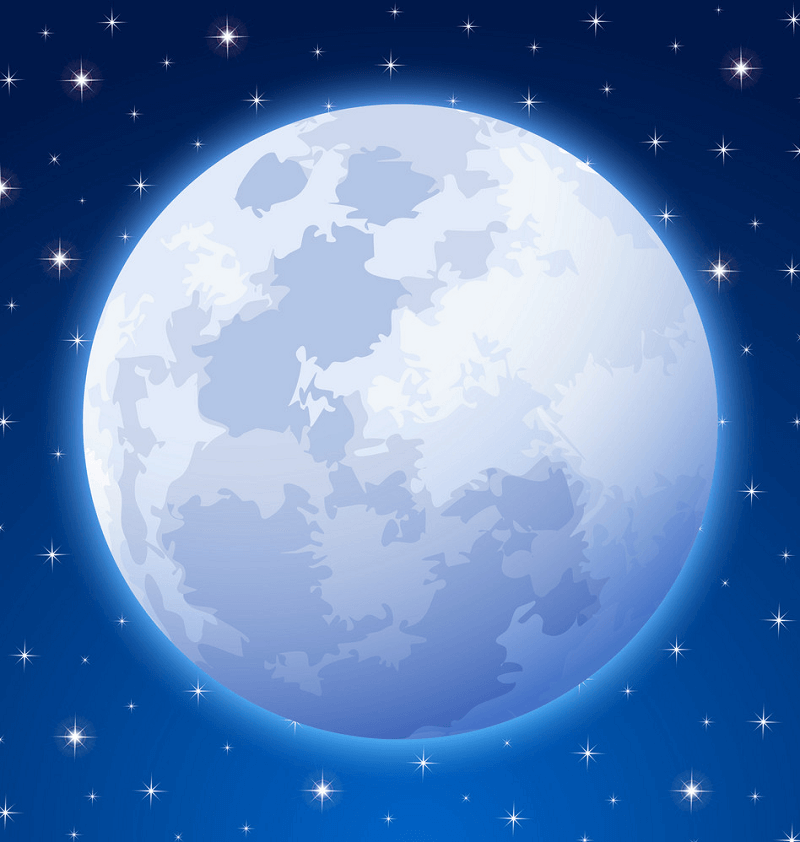 Full Moon clipart