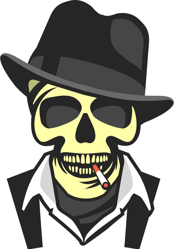 Gangster Skull png