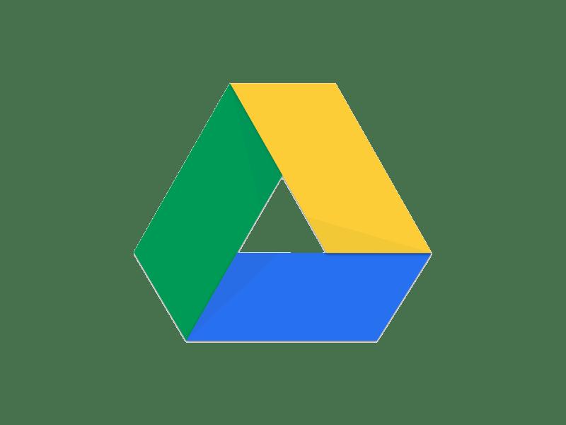 Google Drive clipart transparent