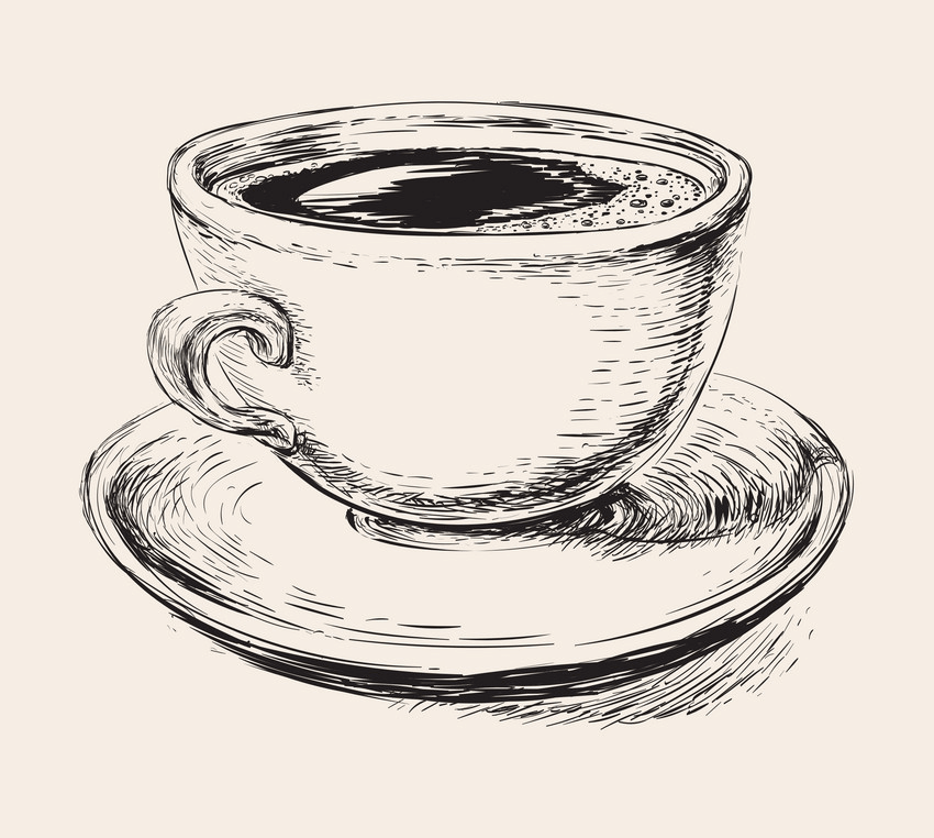 Hand Drawn Coffee Cup clipart