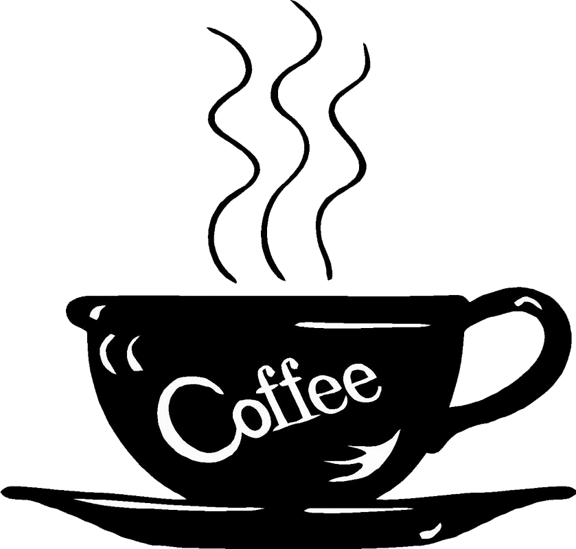 Hot Coffee Cup clipart transparent
