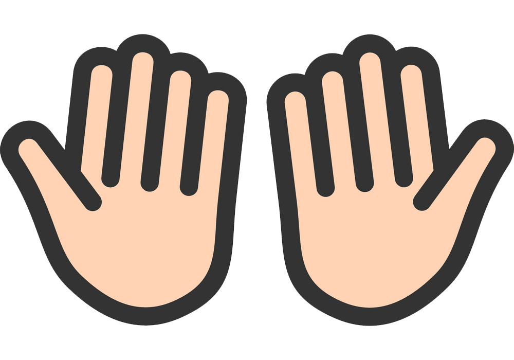 Icon Praying Hands clipart transparent
