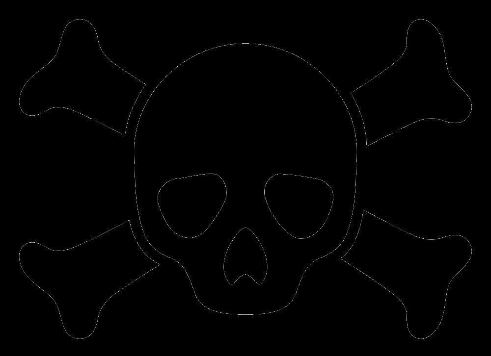 Icon Skull clipart transparent