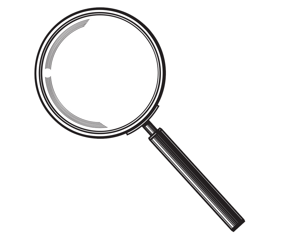 Magnifying Glass clipart transparent 2