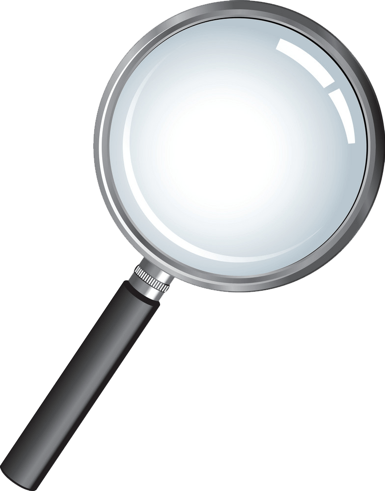 Magnifying Glass clipart transparent