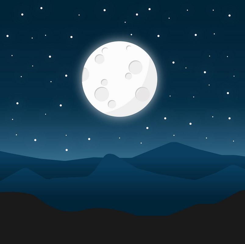 Night Moon clipart