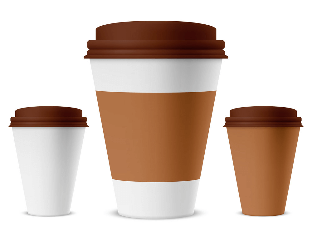 Paper Coffee Cups clipart