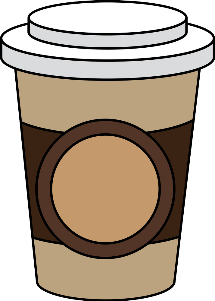 Plastic Coffee Cup clipart transparent