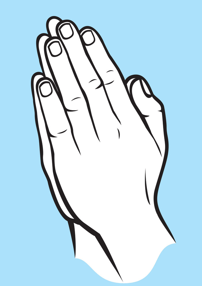 Praying Hands clipart png