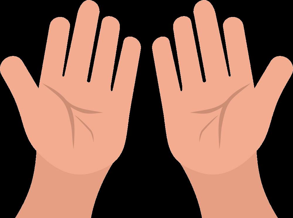Praying Hands clipart transparent 3