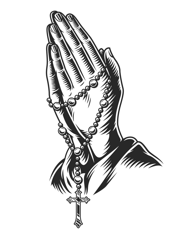 Praying Hands png clipart