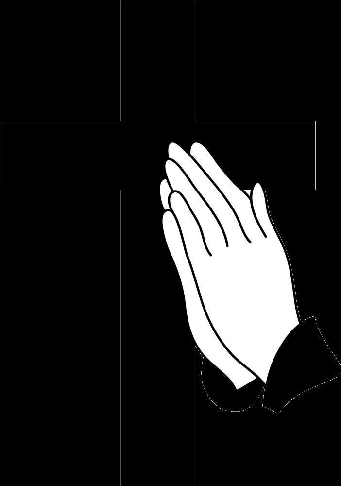 Praying Hands transparent clipart