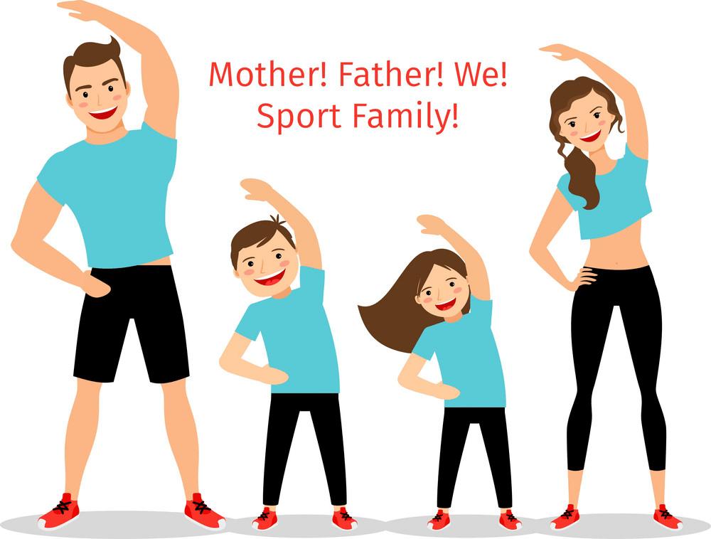 Sport Family clipart