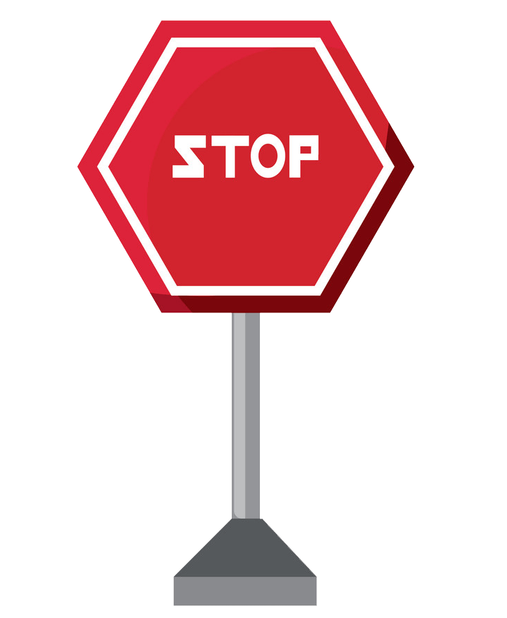 Stop Sign Icon clipart transparent