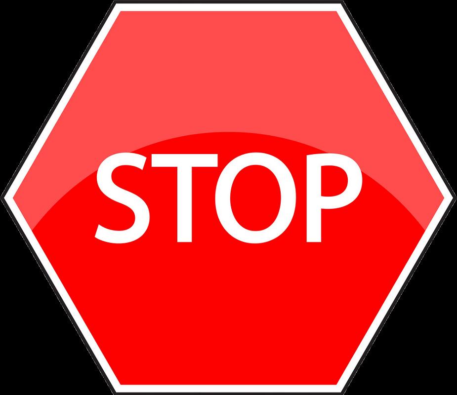 Stop Sign clipart transparent 1