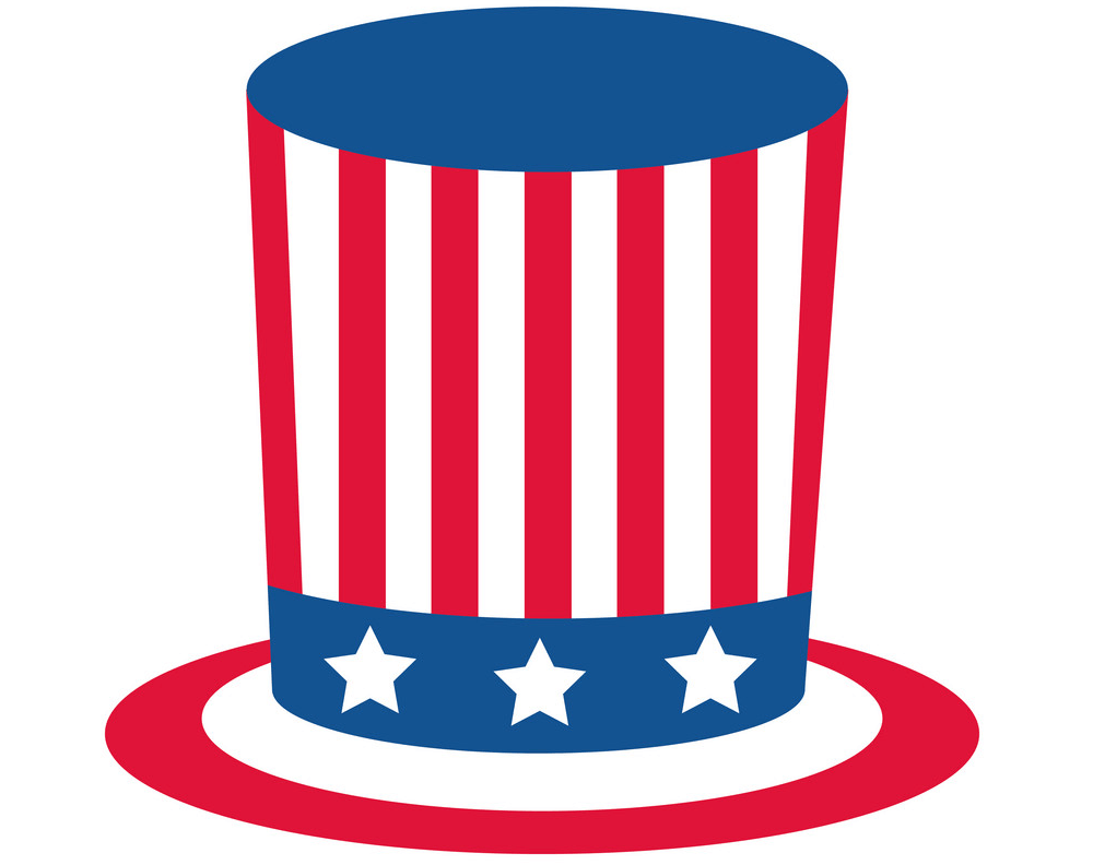 4th of July Hat clipart 1