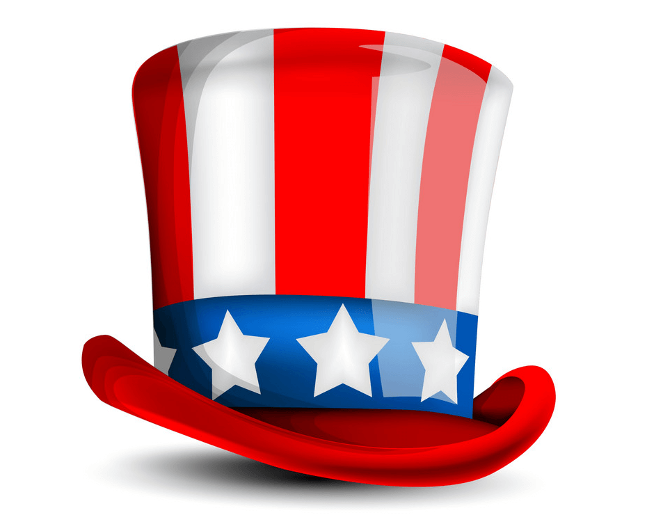 4th of July Hat clipart 2